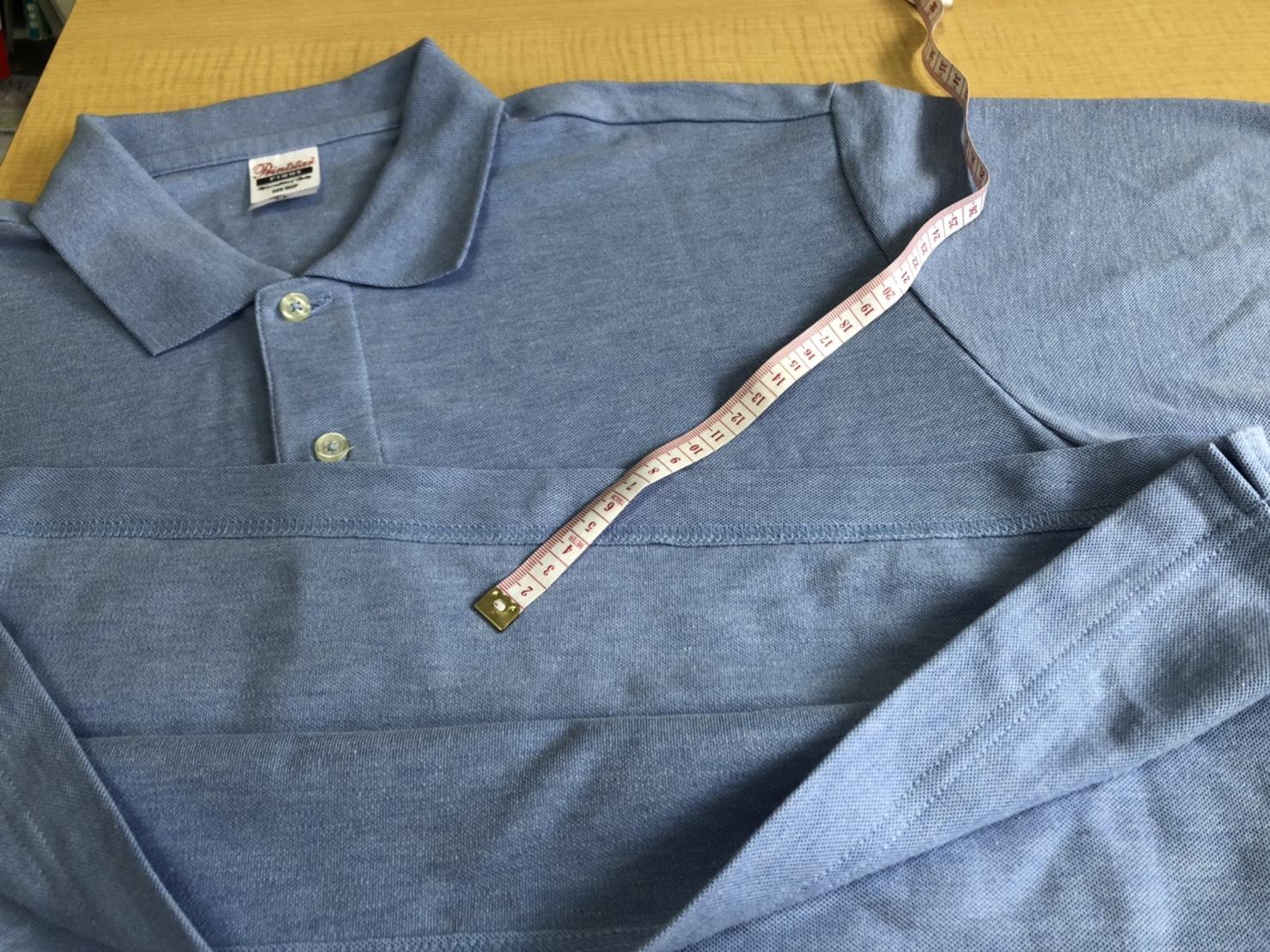 ≪ポロシャツ・着丈詰め~電車でつり革に掴まってもおへそが出ない丈に~≫