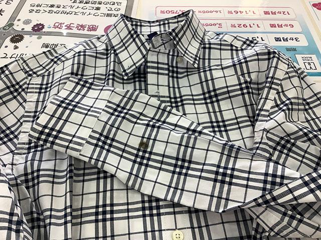 ≪シャツを長袖から半袖に!擦り切れをきれいに!~シャツの袖・リフォーム&リペア~≫